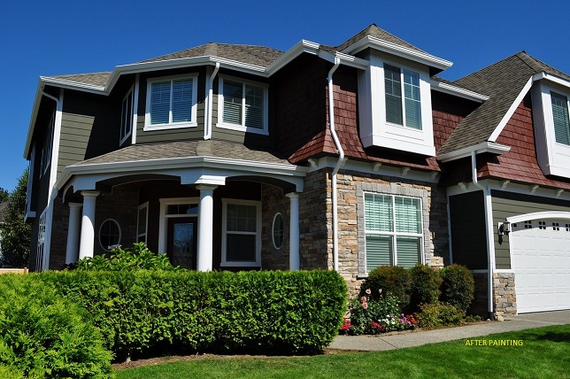 Beautiful house paintedExterior Renton Washington House Painting   Excellent Painters  . Exterior House Painting Seattle Wa. Home Design Ideas