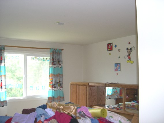 Seattle House Painting · Kidroom Painted Orange Color · Kid Bedroom